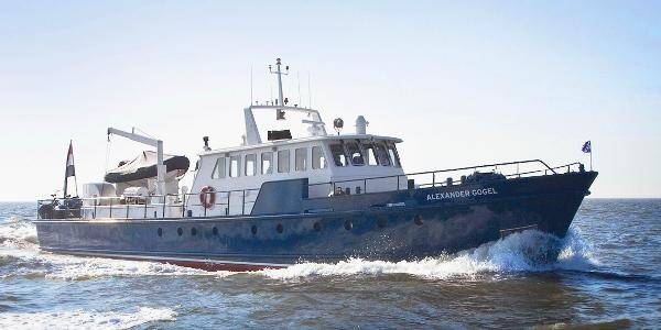 Live aboard motoryacht One-Off de Voogd Naval arch.