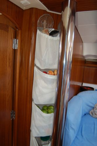 Custom galley storage