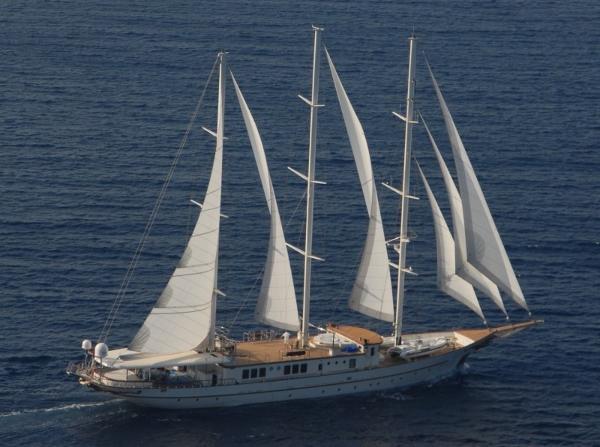 Aegean Sailing Yacht LORETTA EXTERIOR