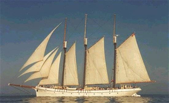 "Clellands Ltd Three-Masted Class ""A"" Tall Ship"