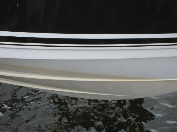 Water Stain on Hull