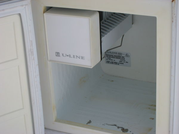 Interior of Ice Maker