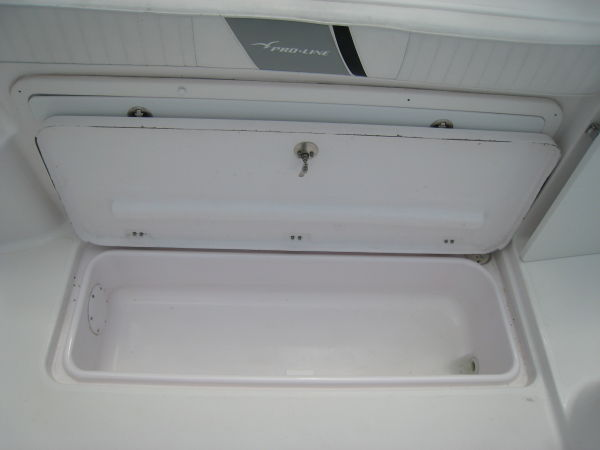 Starboard Cockpit Storage Box