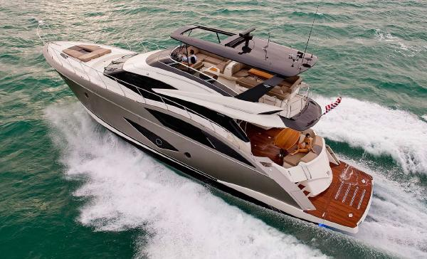 Marquis 660 Sport Yacht Optional Hardtop with Opening Sunroof