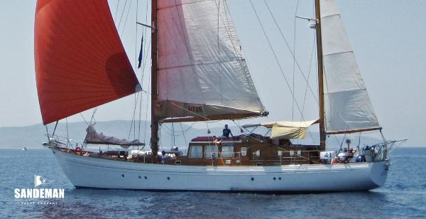 Laurent Giles 72 ft Motor Sailer