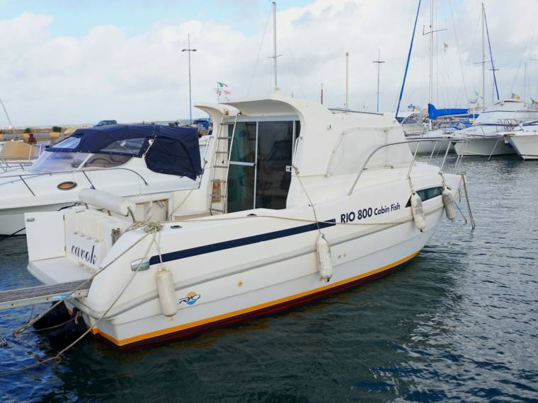 Rio Yachts Rio 800 Cabin Fish