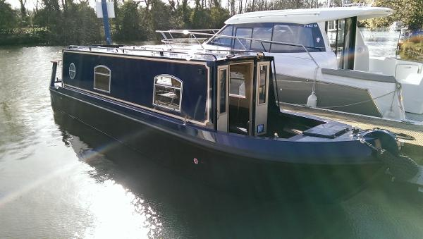 Sea Otter 32 Cruiser Stern Narrowboat