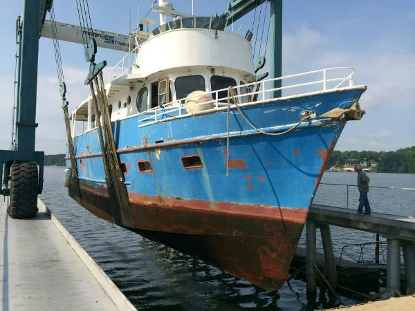 Barbour Boat Works 56 Trawler