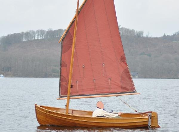 Classic I Oughtred Shearwater Dinghy Classic Ian Oughtred Shearwater dinghy