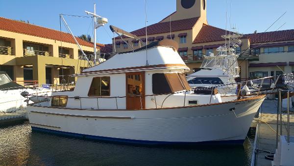 Chb Trawler 34' CHB 1982 - Profile
