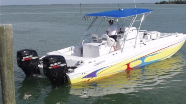 Ocean Express 32 sport fish