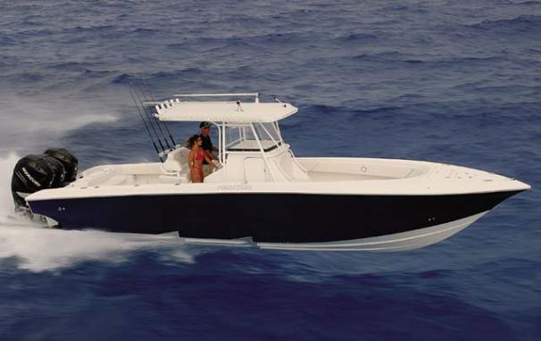 Fountain 34 Center Console Manufacturer Provided Image
