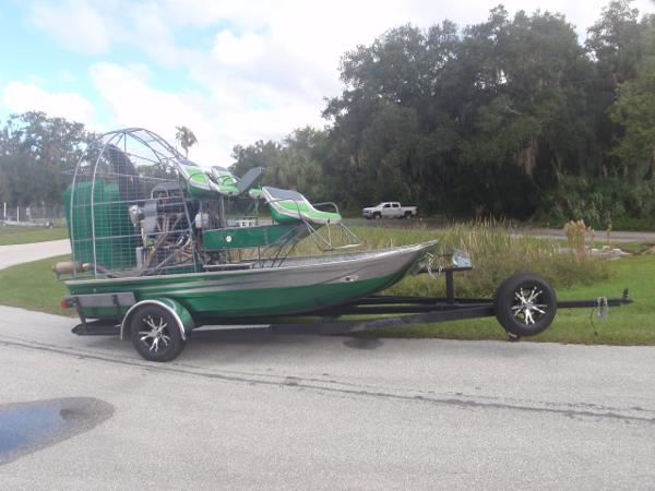 Jimmy White 14 X 8 Airboat