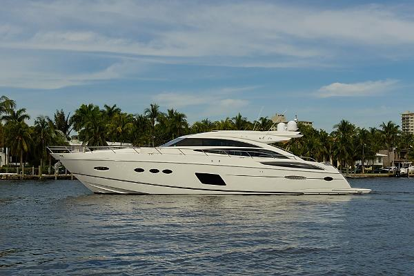 Princess V72 Express Profile - DREAM GIRL