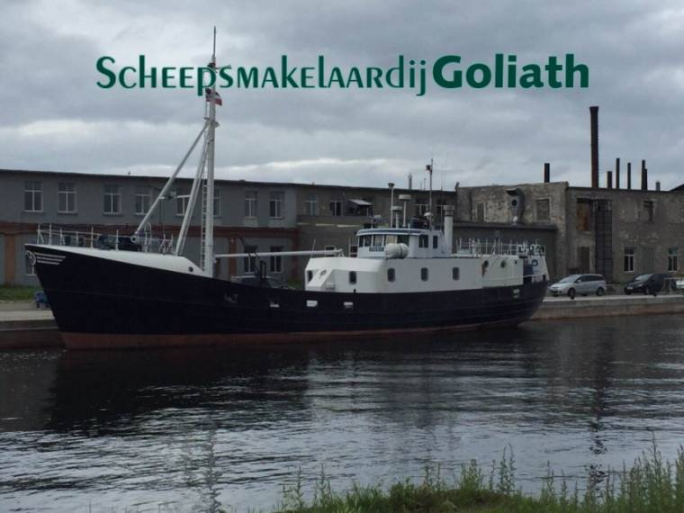 Viskotter ex-visvaartuig