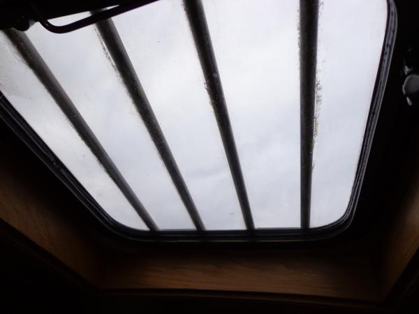 Roof Hatch over galley