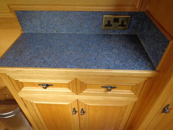 Galley sideboard