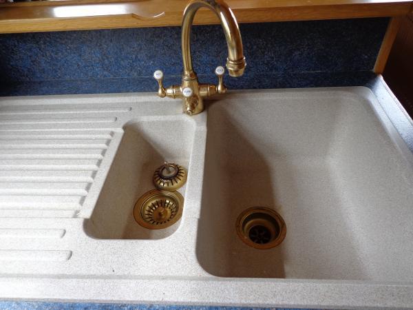 Corian Sink & Drainer