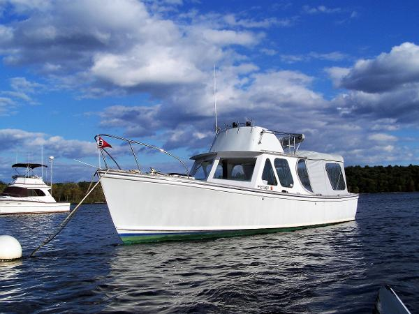 Dyer Express Hardtop Removed - Available at Sale of Boat