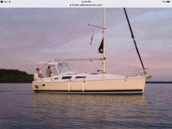 Hunter 33.5 Stb. Profile