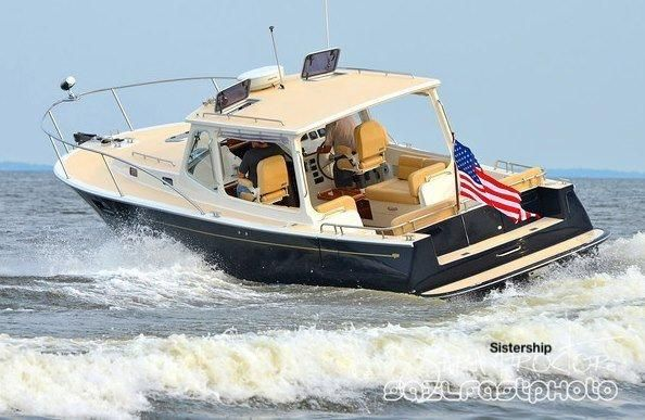 MJM Yachts 36z Downeast MJM 36z Underway