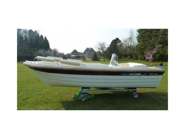 SeaRider 500 retro Konsolenboot