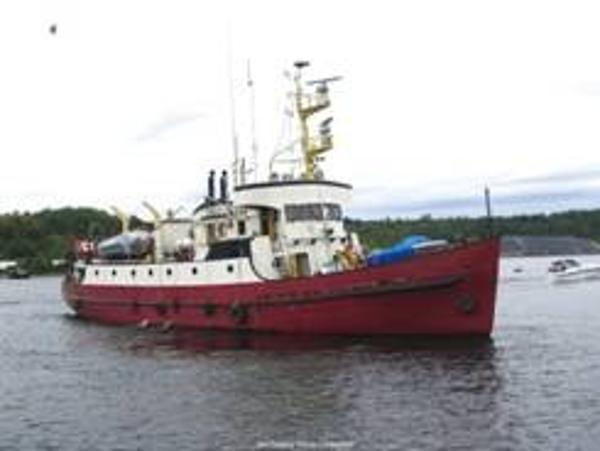 Custom Line Russel-Hipwell Steel Converted CCG Vessel