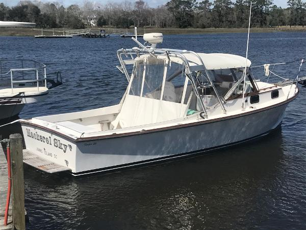 Fortier 26 Downeast Starboard Profile