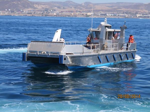Custom Aluminum 50 Work Boat