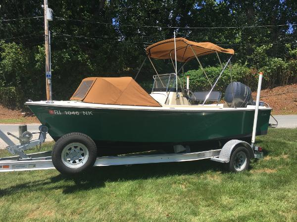 Rossiter 17 CENTER CONSOLE, LOADED