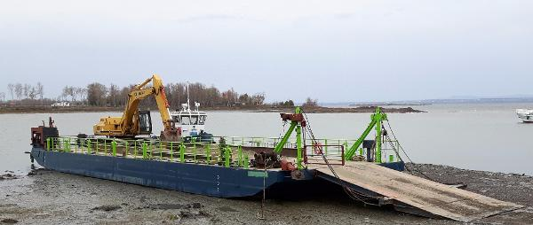 Steel Sectional Barge