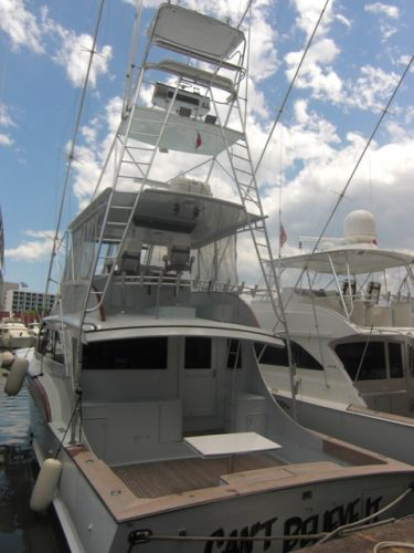 Buddy Davis SF Aft Profile & Tuna Tower