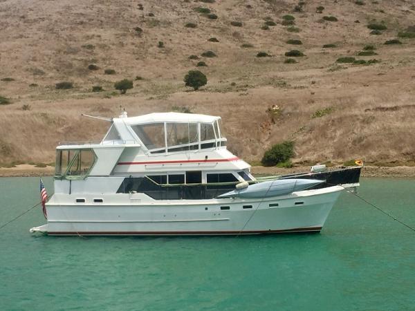 Nova Sundeck Motor Yacht At Catalina Island