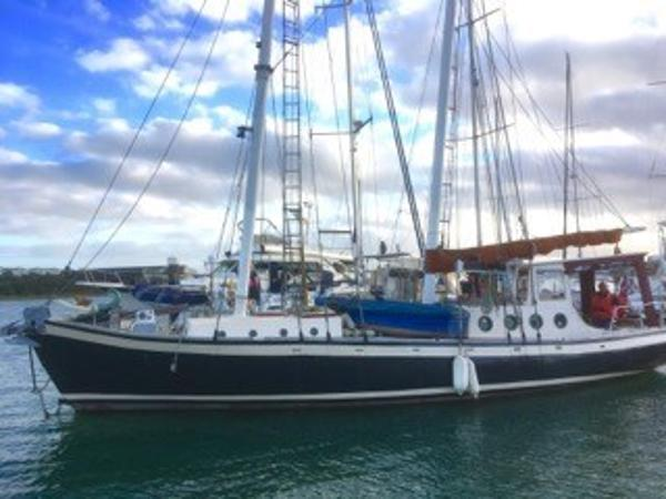 Schooner Gaff Staysail