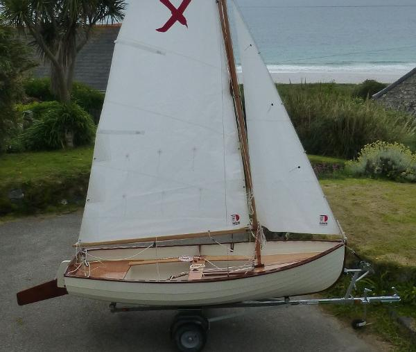 Classic I Oughtred Shearwater sailing dinghy Classic Ian Oughtred Shearwater dinghy