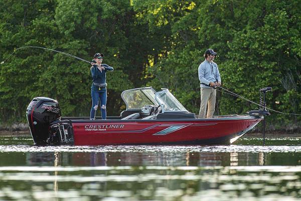 Crestliner 1750 Fish Hawk WT JS