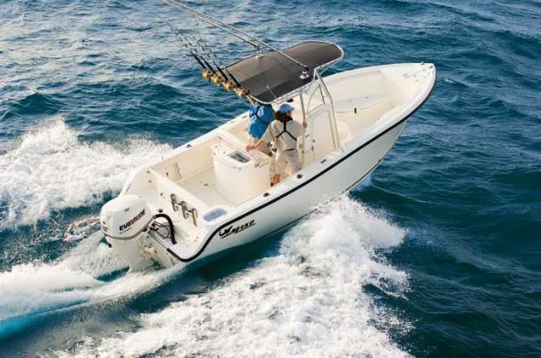 Mako 234 CC The 234 Center Console handles seas that keep lesser boats at the dock.