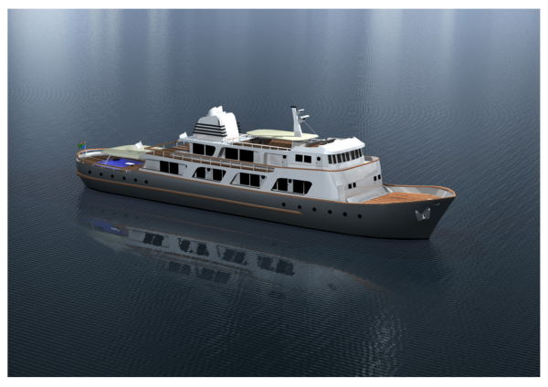 Barens Expedition Yacht conversion Barens Expedition Yacht conversion