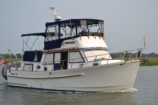Monk Trawler CLASSIC AFT CABIN 1984 Monk 36' Classic Aft Cabin