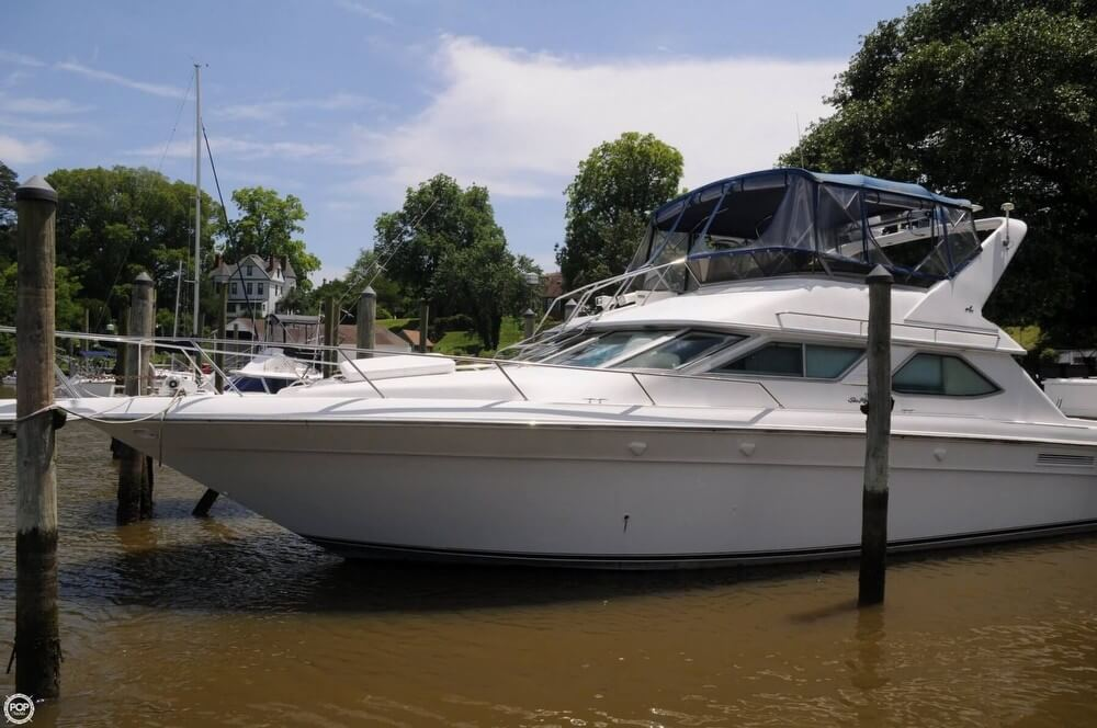 Sea Ray 440 Express Bridge 1995 Sea Ray 440 Express Bridge for sale in Smithfield, VA