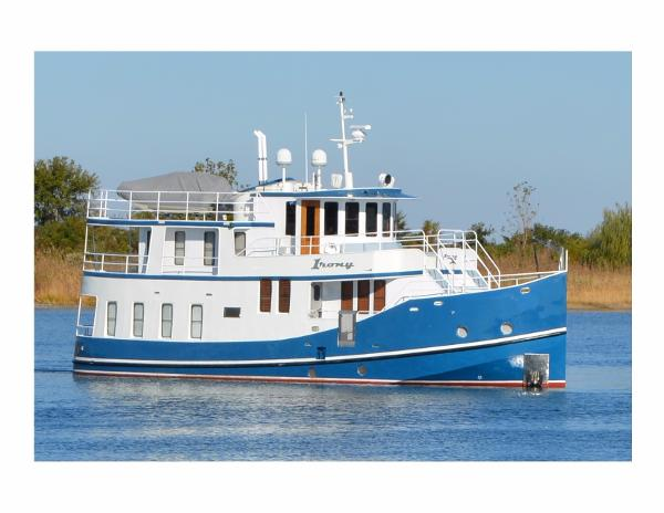 Florida Bay Coaster Raised Pilothouse Starboard Hull