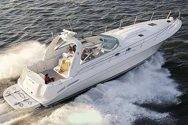 Sea Ray 410 Express Cruiser factory picture