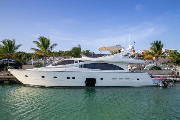 Ferretti Yachts 731 Profile