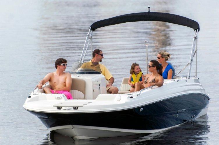 Stingray 212 SC Outboard