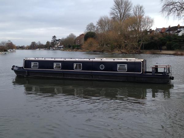 Sea Otter Narrow Boat Aluminium Alloy construction with Cruiser Stern