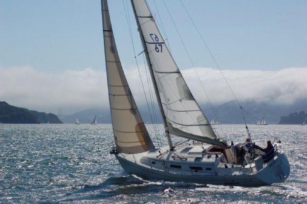 Hanse 341 Boatopia enjoying the Bay