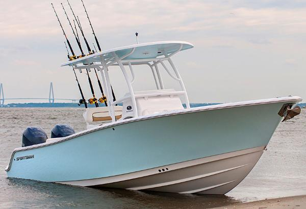Sportsman saltwater fishing boats for sale for Offshore fishing boat manufacturers