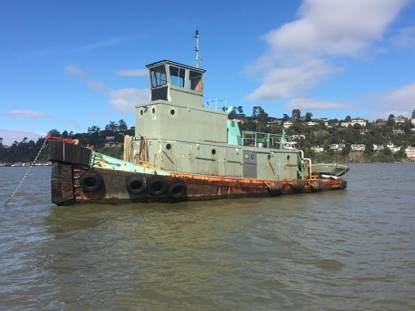 Steel Tug Commercial