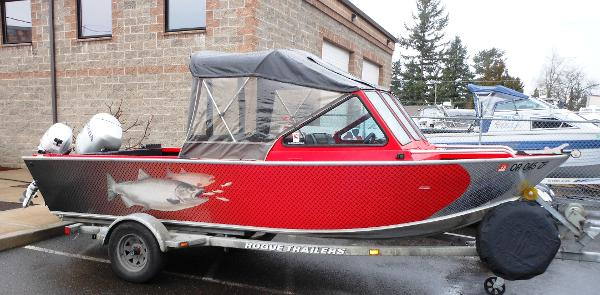 Alumaweld Intruder Outboard 18