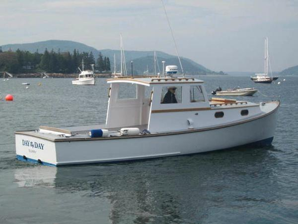 Day Downeast Style Lobster Boat